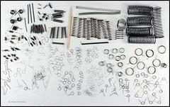 Tray 10 Bessamatic Spareparts (09) (Hans Kerensky) Tags: spring 10 parts springs tray cs spare voigtlnder bessamatic