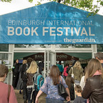 Busy entrance on the first day of the Book Festival