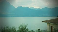 Sunset in Garda (StefanJurcaRomania) Tags: lake del see garda lac verona torri benaco gardasee lacul stefanjurca
