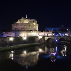 Castel Sant Angelo (Joebelle) Tags: italy rome night clear explore castelsantangelo explored platinumheartaward