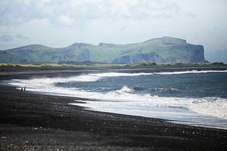 Black sand beaches of Vík