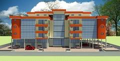 "Development, Jaralam Road, Parklands: FRONT elev. • <a style=""font-size:0.8em;"" href=""http://www.flickr.com/photos/126827386@N07/15060906872/"" target=""_blank"">View on Flickr</a>"