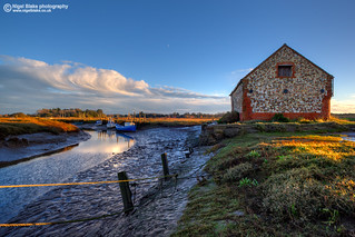 The coal shed at Thornham Staithe