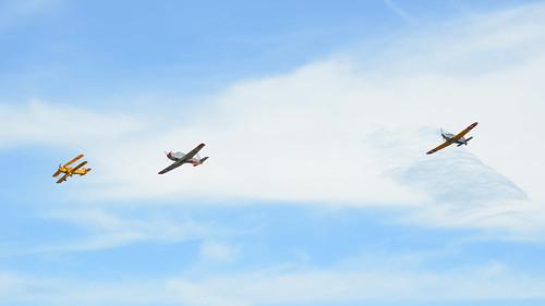 Just three planes