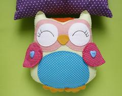Enfeite pra porta - Coruja (Meia Tigela flickr) Tags: baby felt owl coruja bebê feltro decoração corujas corujinhas coruinha