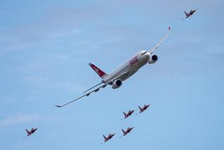 Swiss A330 & Patrouille Suisse