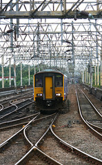 150273 Stockport (Russell Saxton) Tags: station chester stockport stopper 2014 dmu 150273 russellsaxton