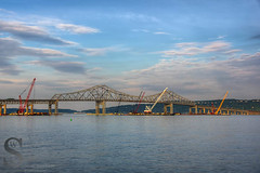 Tappen Zee Bridge under repair (Singing With Light) Tags: ny green night hydrant photography geese spring pentax may flagpole 27 palisades sleepyhollow k3 2014 singingwithlight singingwithlightphotography