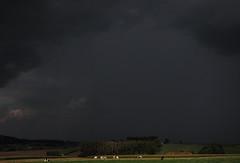 storm (Peter M. Meijer) Tags: light panorama storm clouds landscape belgium september 2014 dranouter