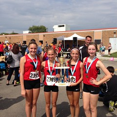 """2014 8th Grade Girls Troy Invite Medal Winners • <a style=""""font-size:0.8em;"""" href=""""http://www.flickr.com/photos/109120354@N07/15128532269/"""" target=""""_blank"""">View on Flickr</a>"""