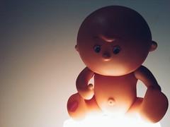 Dalla psicosi degli anni 80 per l'abbronzatura,  'Tondo m'abbronzo', il bambolotto che si abbronza. Classe 1987 (Digitalys_) Tags: toy doll bambolotto