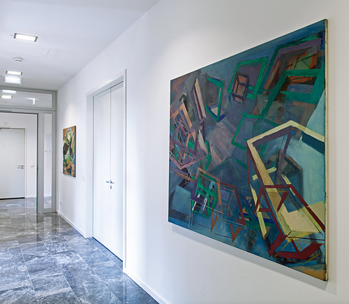 Cubic Worlds III - Christoph Kern Hauptstadtrepräsentanz der VKU, Invalidenstraße, Berlin  Copyright: Cordia-Schlegelmilch.de