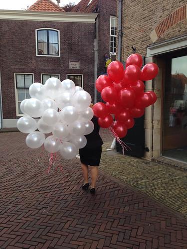 Heliumballonnen Open Monumentendag 2014