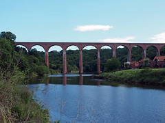 The Larpool railway viaduct Whitby (cmax211) Tags: river track yorkshire railway viaduct cycle whitby northyorkshire 1965 infocus esk highquality larpool ruswarp beeching scarboroughwhitby