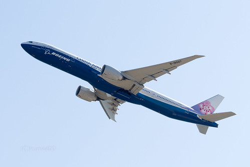 China Airlines B-18007 - Boeing livery