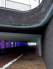 _DSC2670 (durr-architect) Tags: tunnel vision herman kuijer light installation dutch underpass zutphen netherlands architecture art designer artist colourful luminescent motorists cyclists pedestrians time space kcap baljon baauw royal haskoning dhv bam prorail train railway