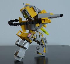 GunR-X - Action side (Wafna-204) Tags: lego legophotography moc wip mech mecha hardsuit robot afol