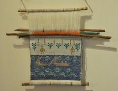 Huave Backstrap Loom Oaxaca Mexico (Teyacapan) Tags: textiles oaxacan mexican museo ikoots huave sanmateodelmar telar looms weavings tejidos