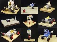 Febrovery 2017 (undamned_legos) Tags: lego classic space febrovery vehicle car motorcycle duplo