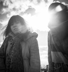 uwo (YutongW) Tags: girls sky blackandwhite sun ontario canada london girl photoshop photography cool nikon university sunny western uwo lightroom