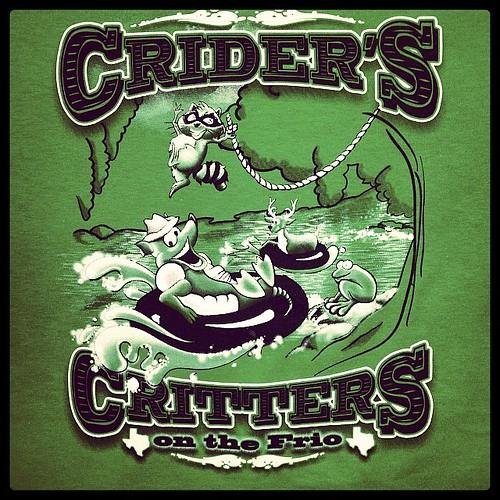 Summer fun at Crider's Cabins in green. #summer #tshirts