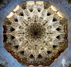 the dome of heaven (perseverando) Tags: architecture spain palace andalucia alhambra moorish granada perseverando