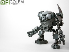 Golem Hardsuit (Dead Frog inc.) Tags: robot lego lol space hard craft assault suit medium heavy xd spacecraft mecha cyberpunk bot rofl drone hardsuit