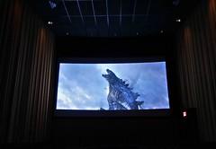 Godzilla (ricko) Tags: monster movie theater screen godzilla kansas shawnee westglen mdpd2014 mdpd1406