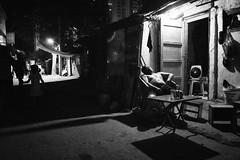 Snapshot_0418 (Huang Qing) Tags: china street blackandwhite bw monochrome night candid 28mm grain streetphotography highcontrast gr ricoh