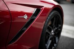 2014 Corvette Stingray (KyledKat) Tags: emblem stingray corvette sportscar 2014 carscoffee
