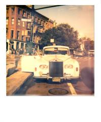 (alaskite) Tags: old nyc film car brooklyn vintage polaroid retro supercolor polaroidsupercolor