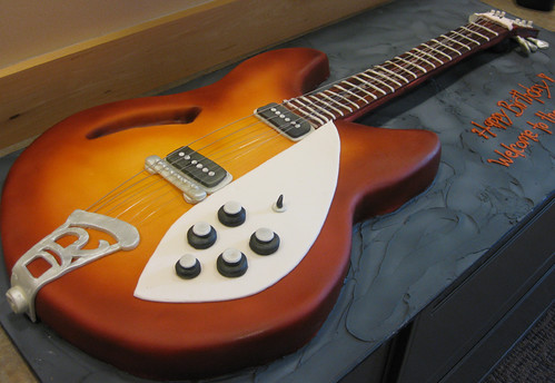 Rickenbacker Electric Guitar Cake