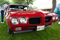 1970 Pontiac GTO (hz536n/George Thomas) Tags: summer copyright june canon michigan orphan canon5d pontiac gto flint 2014 ef1740mmf4lusm cs5 sloanmuseum sloanmuseumautofair sloan2014