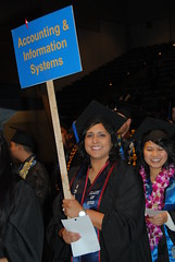Fall 2013 Convocation (sjsulucascollege) Tags: fall caps graduation hats celebration procession commencement gown convocation accounting informationsystems fall2013