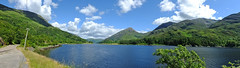 Loch Leven (tubblesnap) Tags: panorama cloud mountain beautiful beauty scotland scenery day sunny loch leven ballachulish kinlochleven
