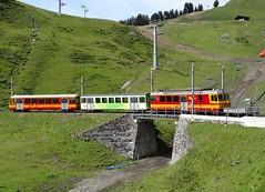 TPC/BVB Shuttle train on it's way to Col du Bretaye. (Franky De Witte - Ferroequinologist) Tags: de eisenbahn railway estrada chemin fer spoorwegen ferrocarril ferro ferrovia