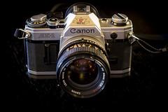 Canon AE-1 (alhawley) Tags: camera macro canon pentax ae1 manualfocus k3 cameraporn canonfd50mmf14ssc pentaxlife pentaxart smcpentaxa50mmf28macro pentaxk3