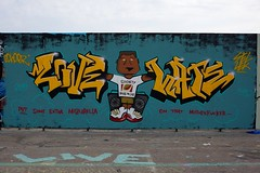 "kalasatama_110814 (Helsinki street art office Supafly) Tags: street urban streetart color art suomi graffiti helsinki colorful spray urbanart spraypaint hel kiva graffitiart ""street graffitiwall art"" katutaide supafly graffitistreetart kalasatama graffitiaita"