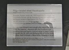 ca. 1523 - 'altarpiece with the Crucifixion and donor Wolf Christoph von Wiesenthau', Oberfranken, Germanisches Nationalmuseum, Nürnberg, Bayern, Germany (roelipilami (Roel Renmans)) Tags: wolf coatofarms arms franconia pale lucas altar upper christoph armour renaissance brabant crucifixion cranach wappen armure rüstung donor wapen retablo altarpiece oberfranken kruisiging wapenschild kreuzigung retable bibra 1523 harnisch stifter altaarstuk wiesenthau retabel donateur opdrachtgever daltare flügelretabel wisenthau