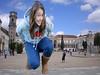 giantess (gtsteenlover) Tags: city smile teen blonde giantess