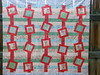 Half Vintage Modern quilt top (CeLynn Peeler) Tags: flimsy quilttop halfvintagemodern