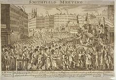 Radical Assembly at Smithfield, 1819 (London Metropolitan Archives) Tags: london print politics protest parliament engraving change georgian smithfield civilunrest henryhunt