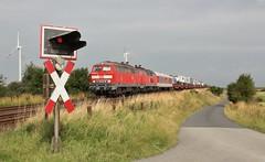 Klanxbll (treineninhetnoorden) Tags: 315 sylt 218 autozug 375 spoorwegovergang autotrein klanxbll niebull hindenburgendamm