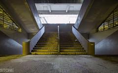Bauhaus style (Stone_Lai) Tags: abandoned canon hongkong ruins stair bauhaus  urbex