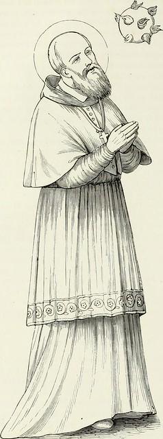 Image from page 15 of Caractâeristiques des saints dans lart populaire (1867)