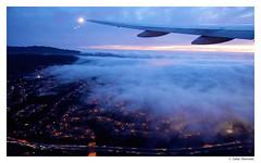 Goodbye SF Fog (salar hassani) Tags: sf fog plane san francisco pacific dusk sony goodbye salar hassani rx100m3