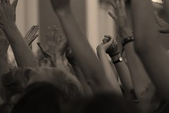 Patti Smith fans (blondinrikard) Tags: music rock gteborg concert hand arms audience livemusic fans pattismith handsup cheering clapping liveconcert raisedhands handsintheair pattismithconcert july302014 pattismithfans liveatliseberg