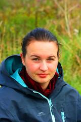 Nicola Smith (Weeman Photography) Tags: woman hot sexy girl beautiful up female dark hair out glasses scotland women panda pretty looking close nicola good c coat scottish smith filter e wife mrs