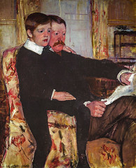 Mary Cassatt - Portrait of Alexander J Cassatt and His Son Robert Kelso Cassatt, 1884 at Degas-Cassatt Exhibit at National Gallery of Art Washington DC (Philadelphia Museum of Art) (mbell1975) Tags: portrait art robert philadelphia museum painting j dc washington districtofcolumbia gallery museu unitedstates mary fine arts son exhibit musée musee collection national american realist his impressionism museo alexander degas impression impressionist muzeum kelso realism 1884 finearts beaux beauxarts cassatt müze gallerie degascassatt