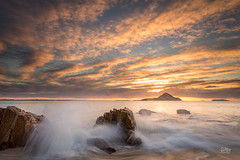Port Stephens (Mike Hankey.) Tags: seascape sunrise published portstephens littlebeach focus14